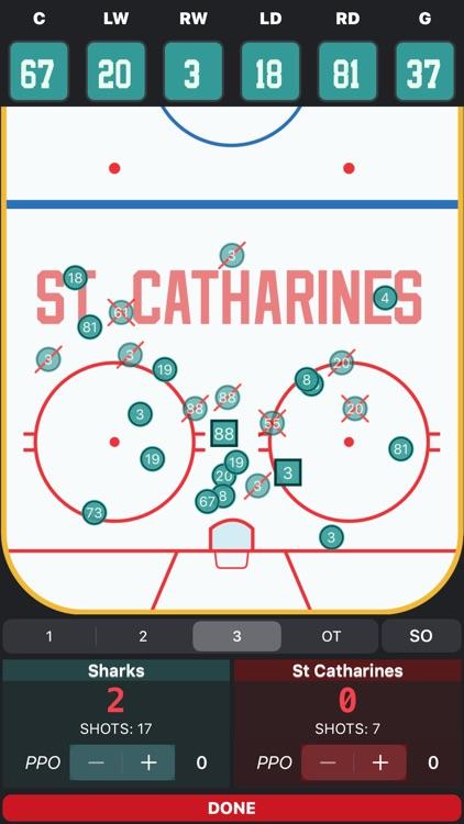 Goaliath Hockey Stats Tracker screenshot-7