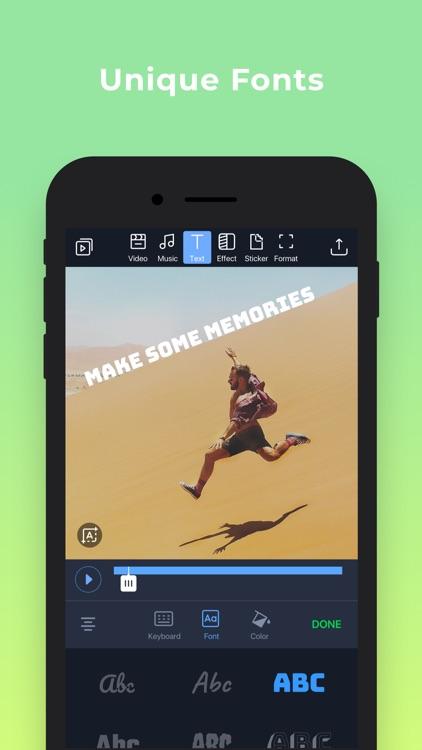 Filmr- easy video editor screenshot-3