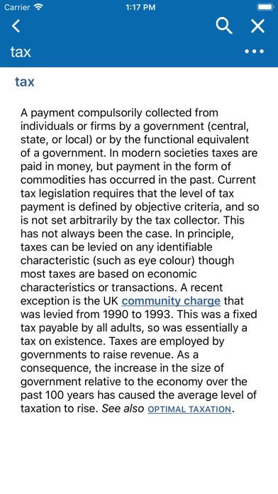 Oxford Dictionary of Economicsのおすすめ画像1