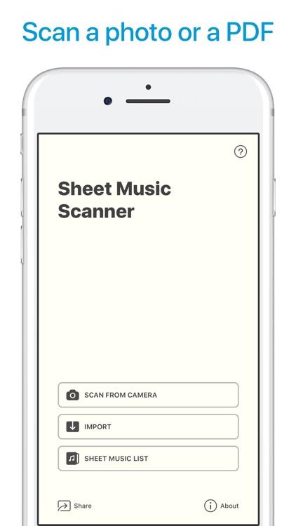 Sheet Music Scanner screenshot-0