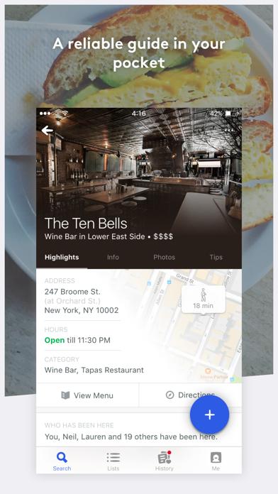 Foursquare City Guide ScreenShot4