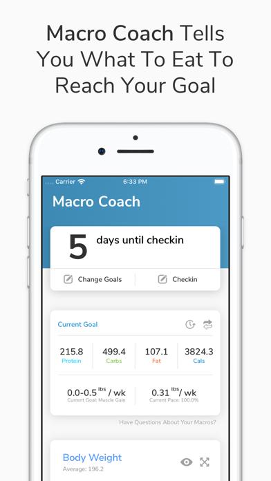 My Macros+ | Diet & Calories Screenshot