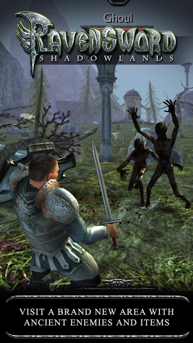 Screenshot from Ravensword: Shadowlands
