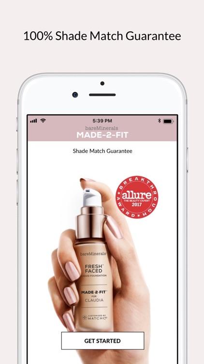 bareMinerals MADE-2-FIT Makeup screenshot-4