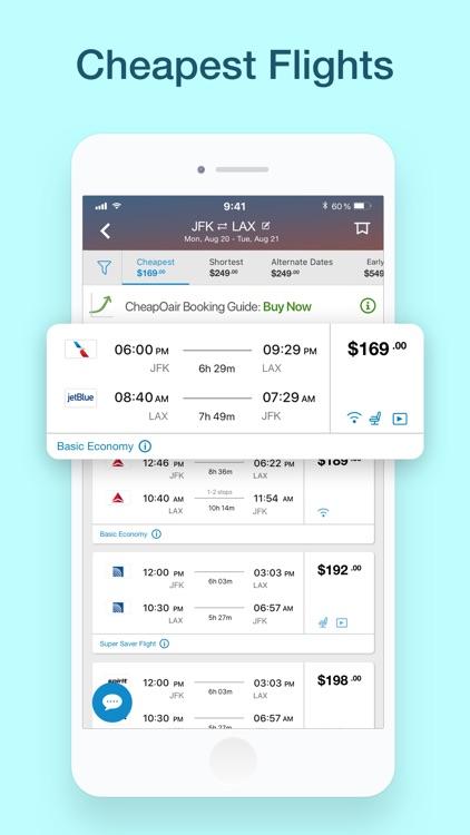 CheapOair: Cheap Flight Deals screenshot-0