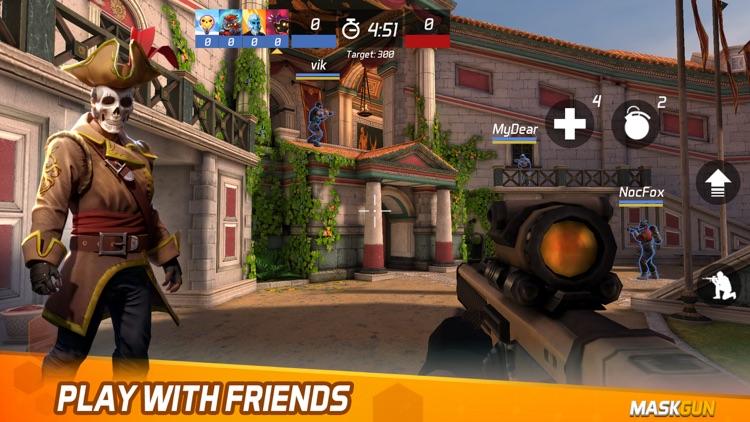 MaskGun Multiplayer FPS screenshot-7