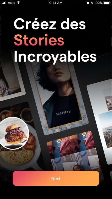 Mojo pour Insta Stories