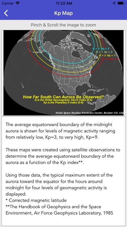 Aurora Forecast & Alerts screenshot-8