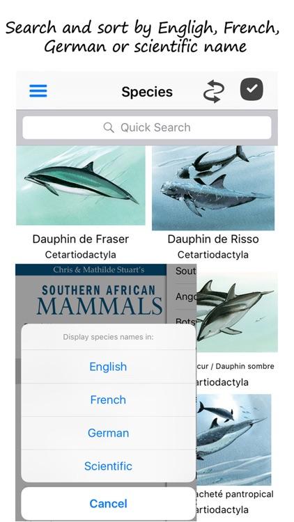 Stuarts' SA Mammals 5th Ed screenshot-4