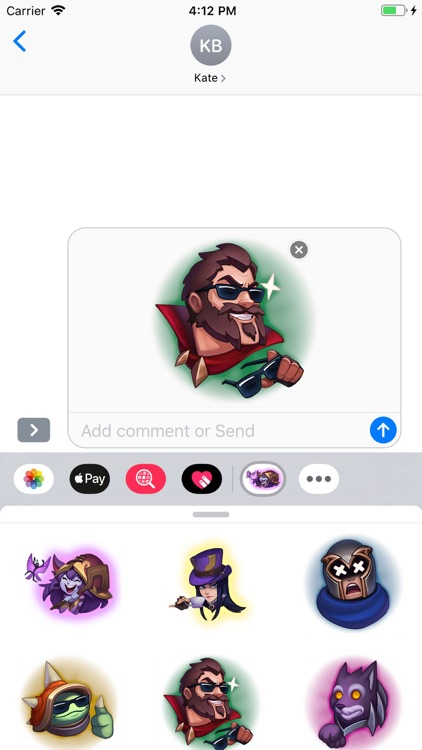 Cartoon - Stickers Pack screenshot-5