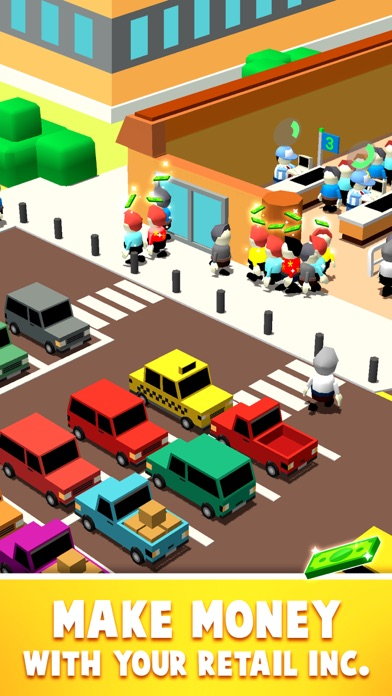 Idle Square Inc.: Mall Tycoon screenshot 2