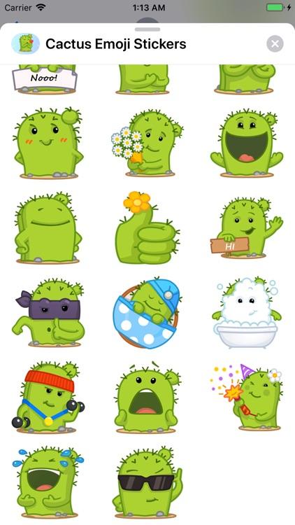 Cactus Emoji Stickers screenshot-5