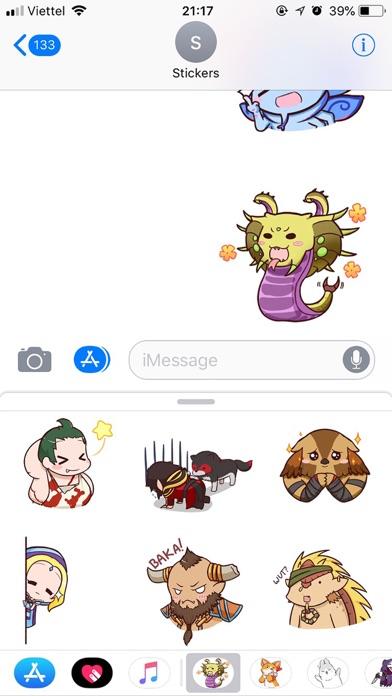 Dota Pun Emoji Funny Stickers screenshot 3