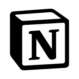 Ícone do app Notion - Notes, projects, docs