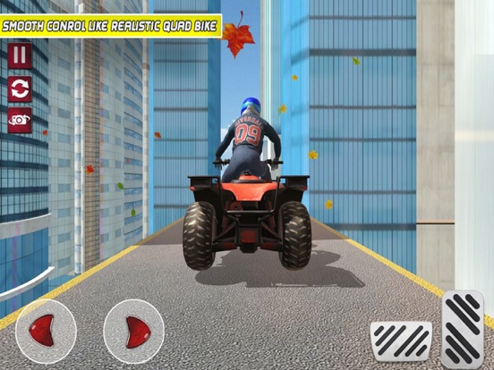 ATV Impossible Track City screenshot #2