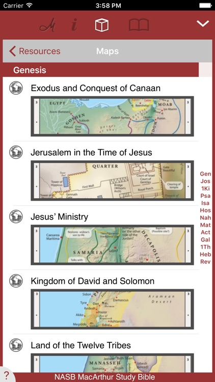 NASB MacArthur Study Bible screenshot-3