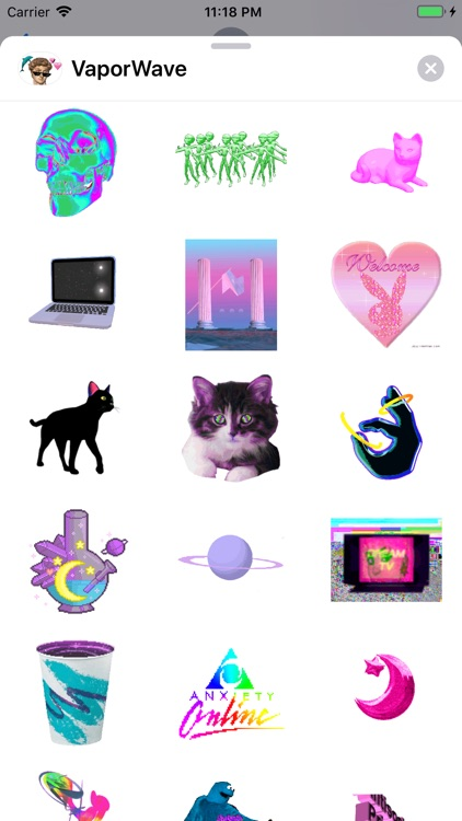 VaporWave Keyboard screenshot-5