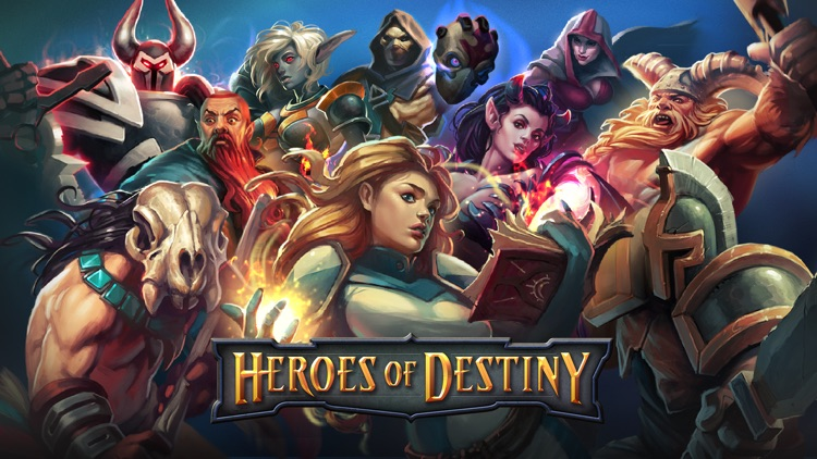 Heroes of Destiny: Fantasy RPG screenshot-0