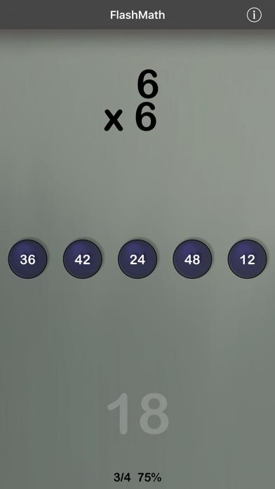 FlashMath (math flash cards)のおすすめ画像2