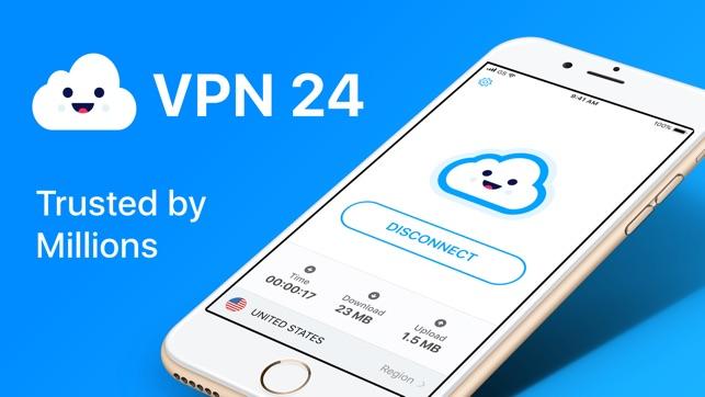 VPN 24: Hotspot VPN for iPhone on the App Store
