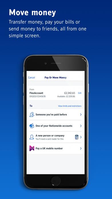 Nationwide Mobile Banking screenshot four