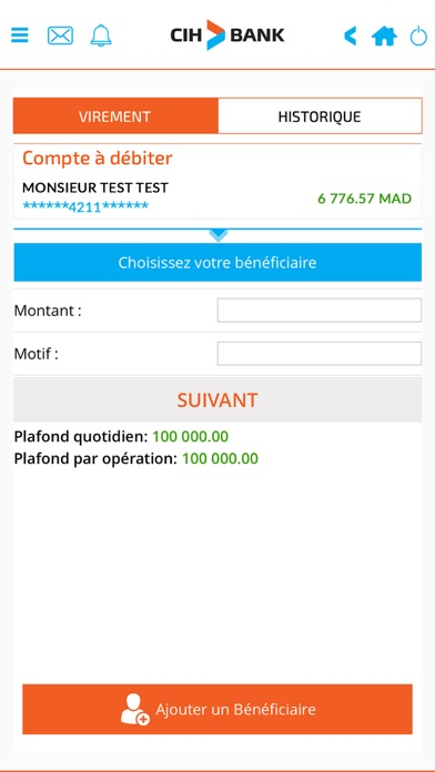 messages.download CIH MOBILE software