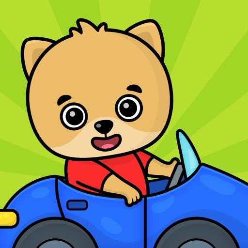 Kinderspiele: Autospiele ab 2+
