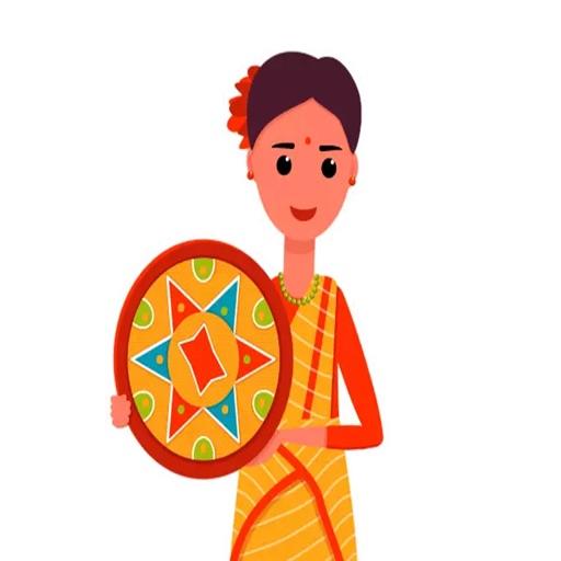 Bohag Bihu Sticker