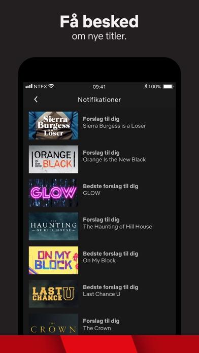 Screenshot for Netflix in Denmark App Store
