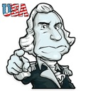 Presidents of USA Stickers