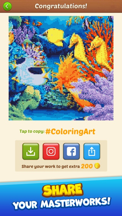 Cross Stitch: Coloring Art screenshot-4