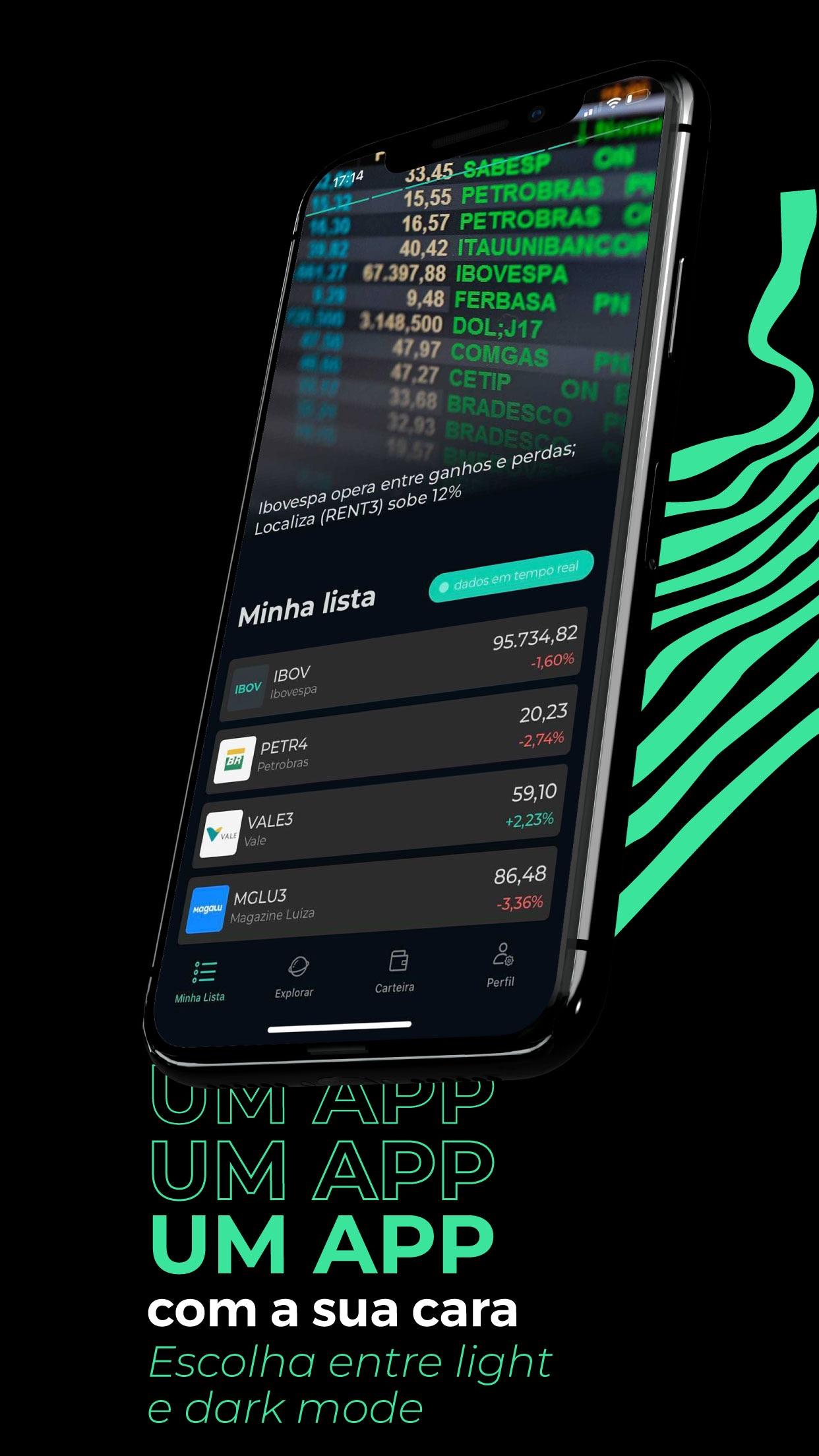 Screenshot do app Guru - Investimentos e Ativos