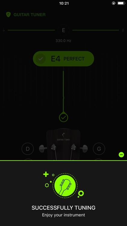 GuitarTunio - Guitar Tuner screenshot-8
