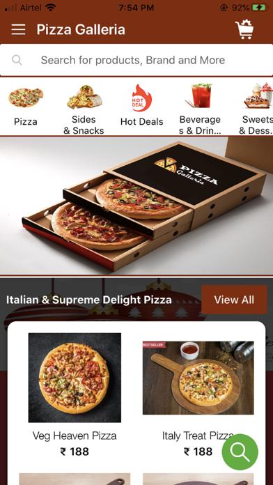 Pizza Galleria screenshot 1