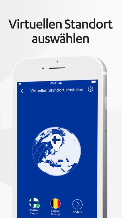 F-Secure FREEDOME VPNScreenshot von 3