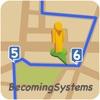 世界をドライブ/散歩する - iPhoneアプリ