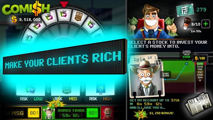 Comish: Stock Market Simulator screenshot-3