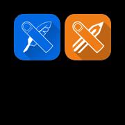 平面设计互动教程套装 for Photoshop CC和Illustrator CC