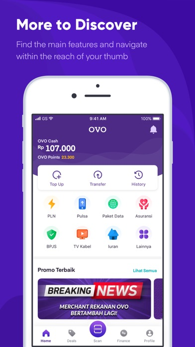 Ovo By Visionet Internasional Pt Ios United States Searchman App Data Information