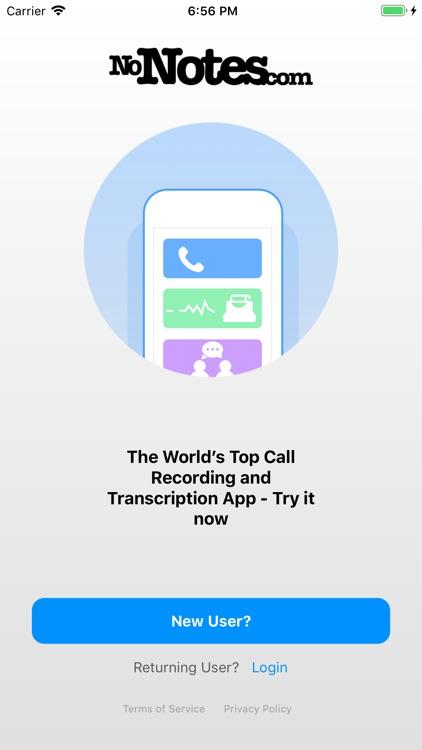 Call Recording by NoNotes screenshot-3