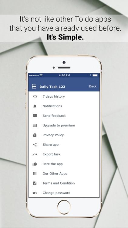 Daily Task Planner: To Do List screenshot-9