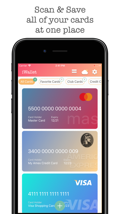 iWallet Pro - Credit Wallet by Pooja Bansal (iOS, United