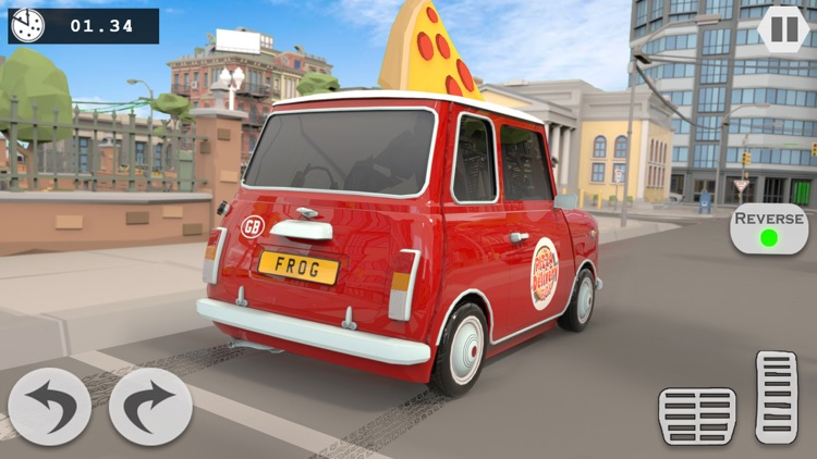 Pizza Delivery Boy Driving Sim screenshot-3