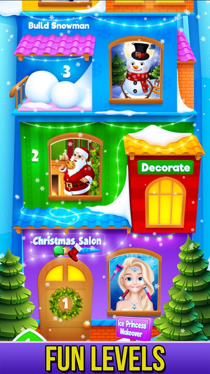 Christmas - Princess Makeover screenshot-9