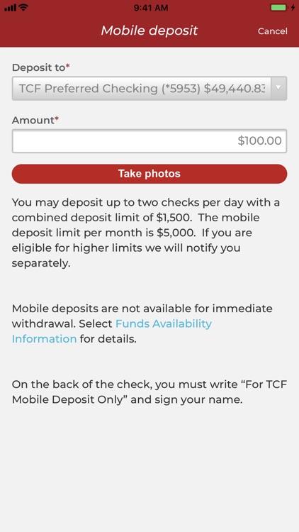 TCF Bank screenshot-4