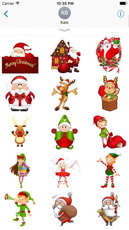 Winter Merry Christmas Emoji