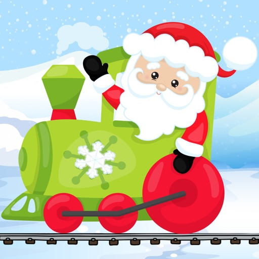 Christmas Train Snowman Games