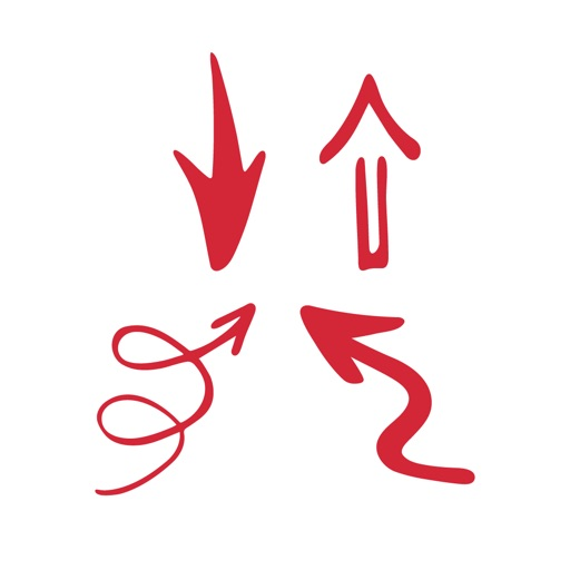 Marker & Arrows for Messages