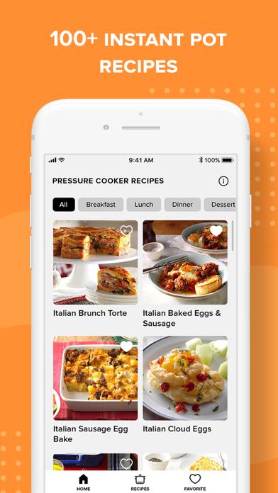 Insta Pressure Cooker Recipes Screenshot