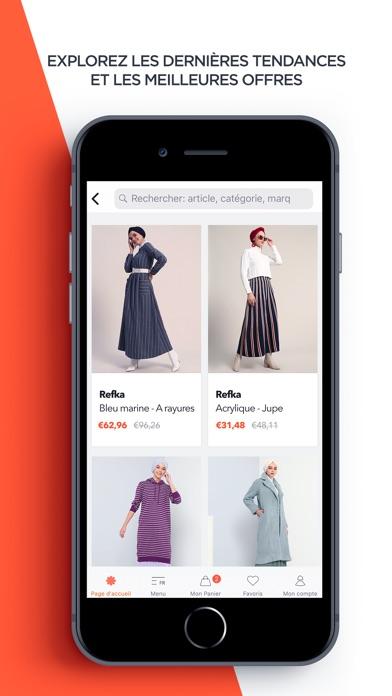 Screenshot for Modanisa in Lebanon App Store